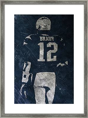 Tom Brady Patriots 3 Framed Print by Joe Hamilton