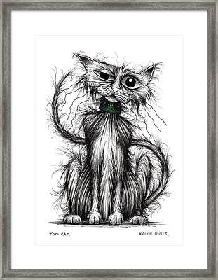 Tom Cat Framed Print by Keith Mills