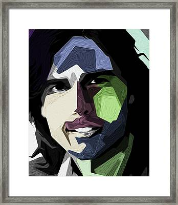 Tom Cruise By Nixo Framed Print by Nicholas Nixo