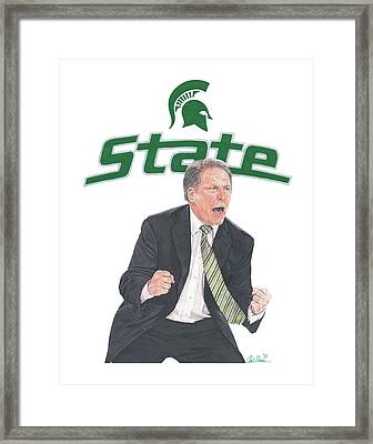 Tom Izzo Framed Print