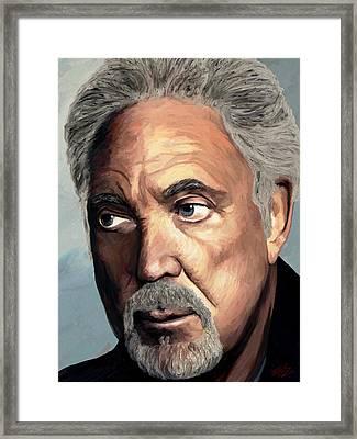 Tom Jones Framed Print by James Shepherd