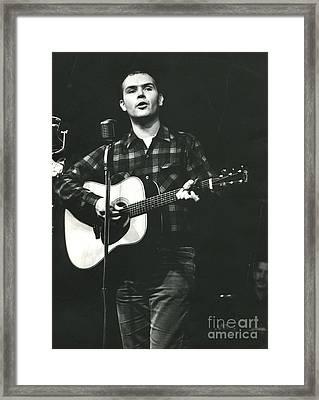 Tom Paxton Framed Print