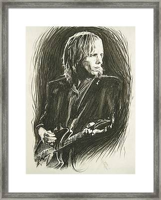 Tom Petty 1 Framed Print