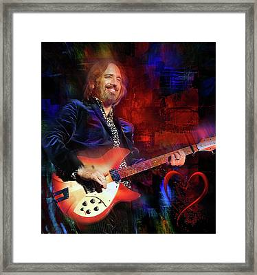 Tom Petty And The Heartbreakers Framed Print