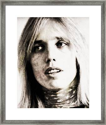 Tom Petty, Music Legend Framed Print