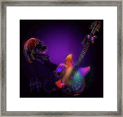 Tom Petty Tribute 1 Framed Print