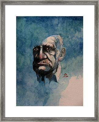 Tom Framed Print by Ray Agius