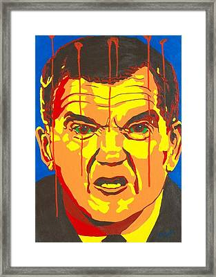 Tom Ridge Framed Print by Dennis McCann
