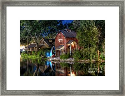 Tom Sawyers Harper's Mill Framed Print