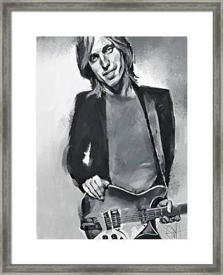 Tom Framed Print by Scott Waters