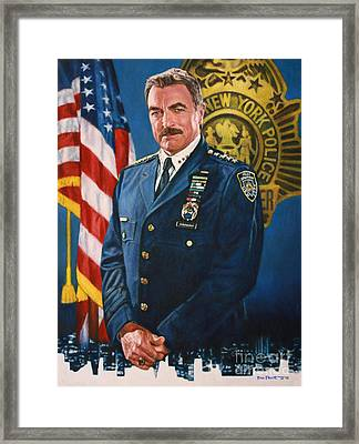 Tom Selleck - Blue Bloods Framed Print by Bill Pruitt