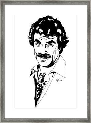 Tom Selleck Magnum Pi Framed Print