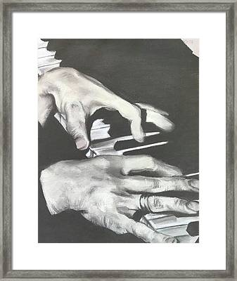 Tom Waits B Framed Print