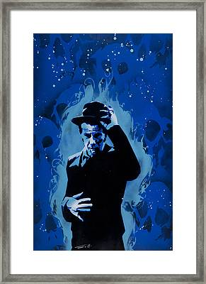 Tom Waits Framed Print by Tai Taeoalii