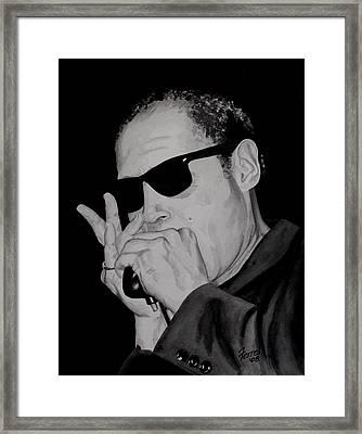 Tomas Esparza Framed Print by Ferrel Cordle