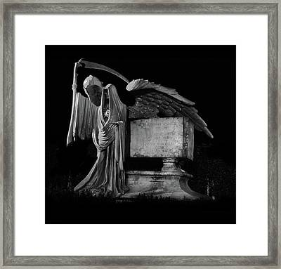 Tomas Riddle Tomb Harry Potter Framed Print by Gina Dsgn