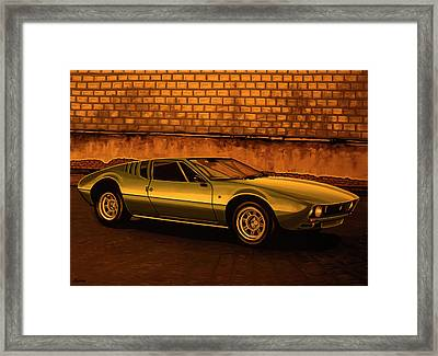 Tomaso Mangusta Mixed Media Framed Print by Paul Meijering