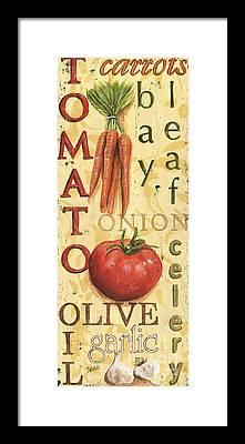 Tomato Framed Prints