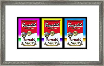 Tomato Soup Framed Print by Stephen Younts