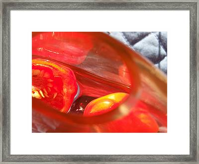 Tomatoe Red Framed Print
