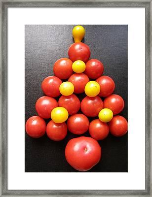 Tomatoe Tree Framed Print by Jeanette Oberholtzer
