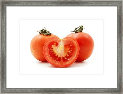 Tomatoes Framed Print by Fabrizio Troiani
