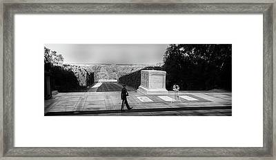 Tomb Of The Unknown Framed Print