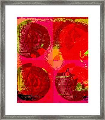 Tombola De Amor. Framed Print by Mildred Ann Utroska        Mauk