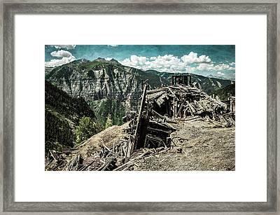 Tomboy Mine Framed Print by George Buxbaum