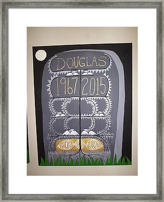 Tombstone 2 Framed Print by William Douglas