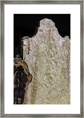 Tombstone Framed Print by Robert Ullmann