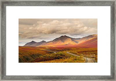 Tombstone Territorial Park Yukon Framed Print by Rod Jellison