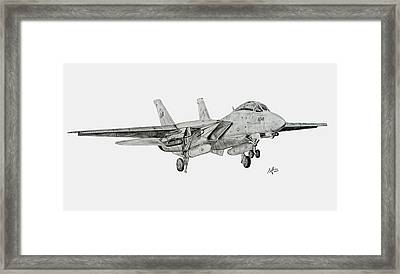 Tomcat Almost Home Framed Print by Nicholas Linehan