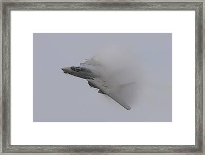 Tomcat Vapor Framed Print