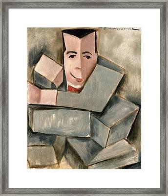 Boxing Pee Wee Herman Art Print Framed Print by Tommervik