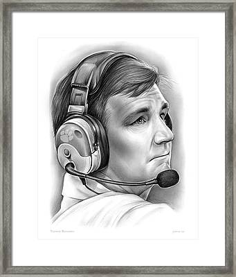 Tommy Bowden Framed Print