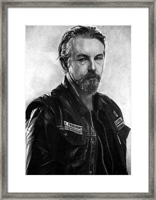 Tommy Flanagan Framed Print by Stan Antonio