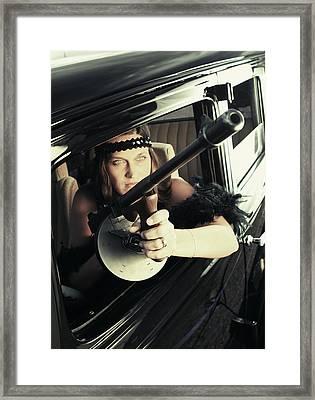 Tommy Gun Framed Print