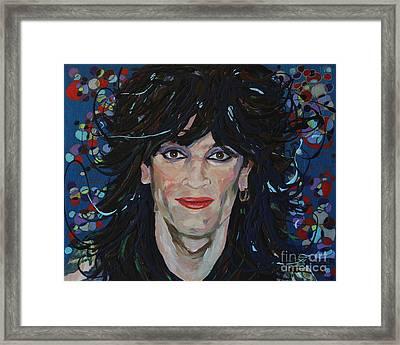 Tommy Lee 80s Hair Bands Motley Crue Framed Print by Robert Yaeger
