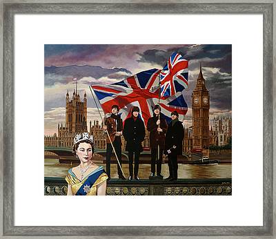 Tomorrow Never Knows Framed Print by Jo King
