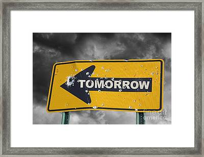 Tomorrow Framed Print