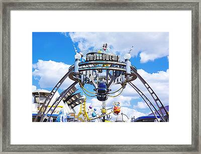 Framed Print featuring the photograph Tomorrowland by Greg Fortier