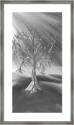 Tomorrow's Land Framed Print by Denny Casto