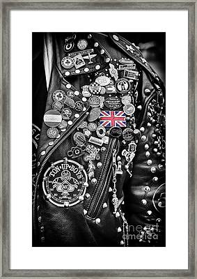 Ton Up Boys Framed Print by Tim Gainey