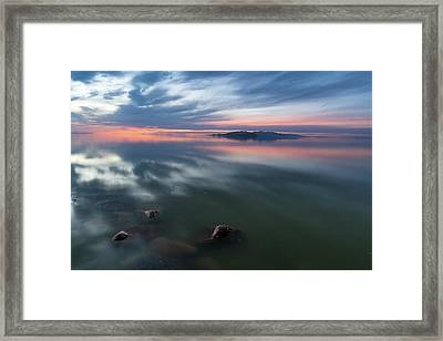 Tonal Sunset Framed Print by Justin Johnson