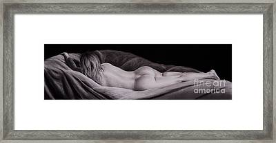 Toned Framed Print by Gary Leathendale