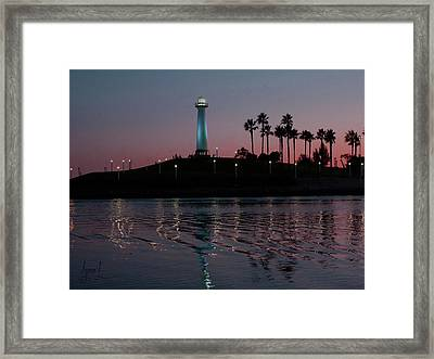 Tones In Twilight Framed Print by S Lynn Lehman