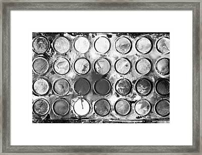 Tones Of Grey Framed Print