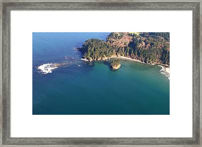 Tongue Point Framed Print by Wilbur Young