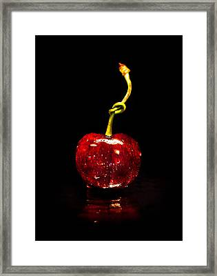 Tongue Tied Framed Print